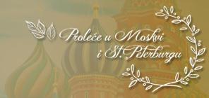 Proleće u Moskvi i St. Peterburgu
